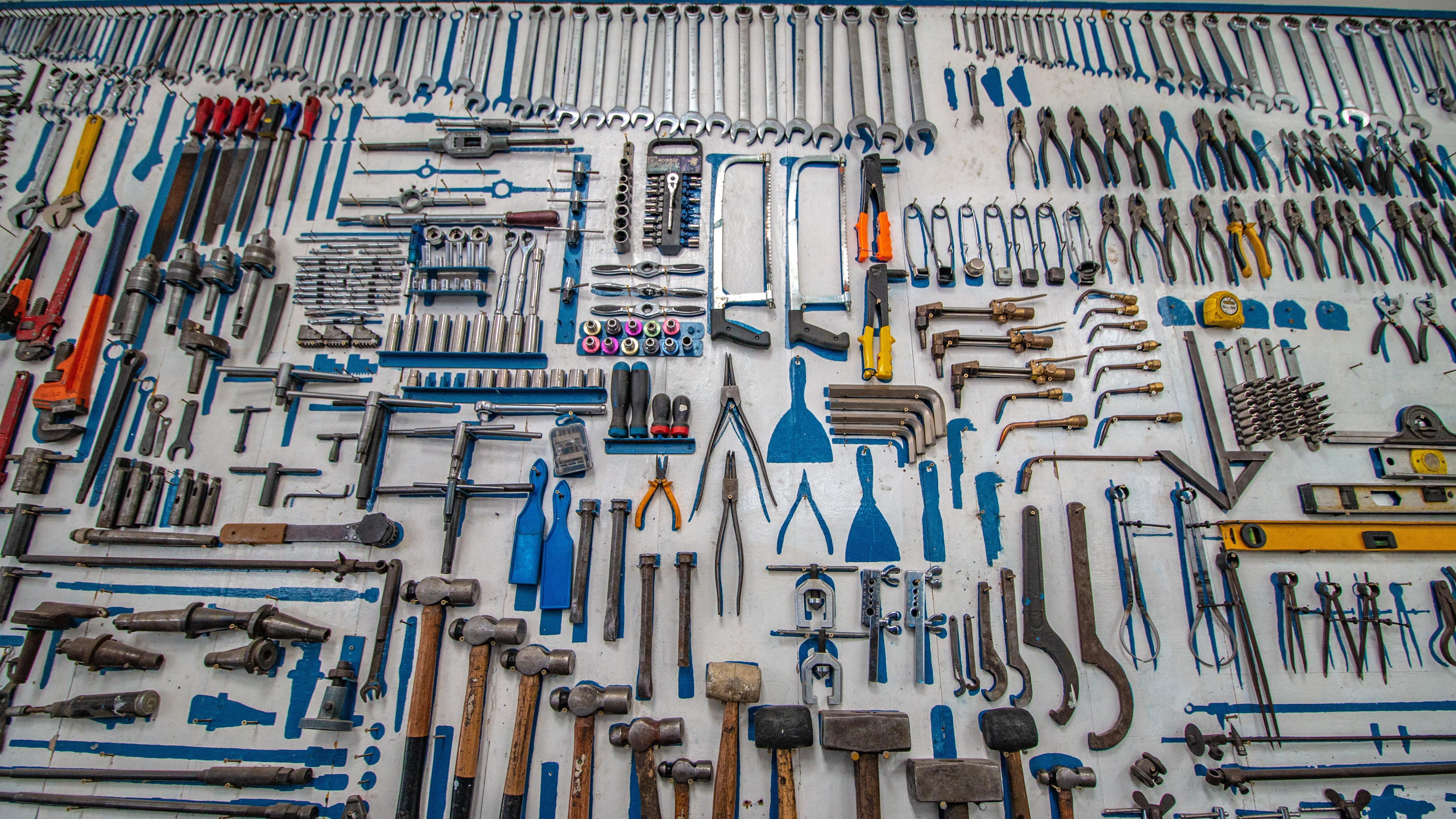 Lots of standardised tools